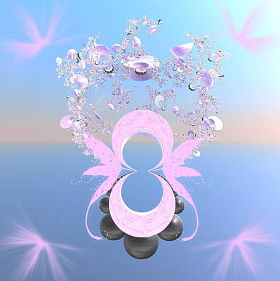 Jugglers Digital Art - Magical Juggler by Rosalie Scanlon