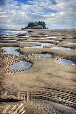 Popham Beach Photograph - Magical Maine by Tammy Wetzel