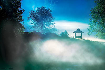 Photograph - Magical Morning Near Lake Lanier by Mark Tisdale
