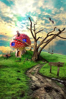 Photograph - Magical Mushroom by Dimitar Vatev