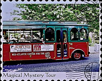 Photograph - Magical Mystery Tour by Rick Todaro
