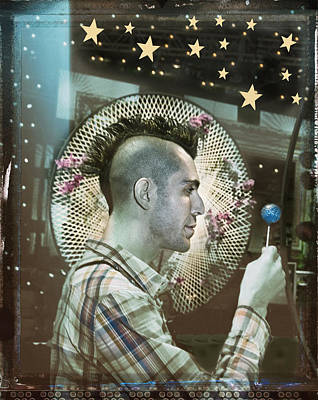 Mohawk Hairstyle Photograph - Magical Mystery Tour by Steve Ladner
