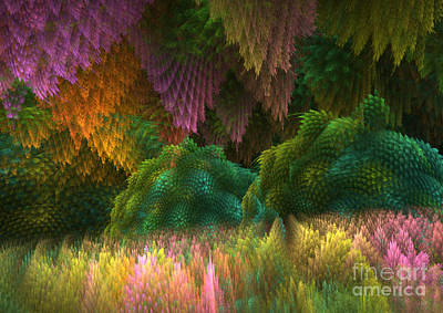 Magical Mystery Woods 2 Art Print