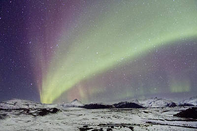 Nordic Photograph - Magical Night by Evelina Kremsdorf