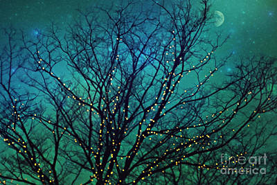 Magical Night Art Print by Sylvia Cook