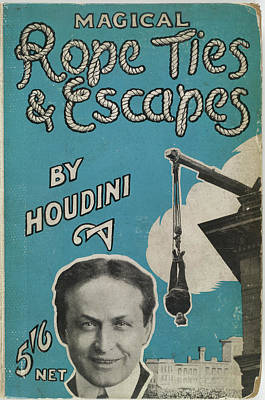 Houdini Photograph - Magical Rope Ties by British Library