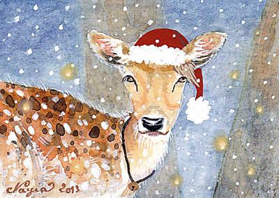 Magical Snow Original by Nayia Jones