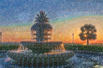 Digital Art - Magical Sunrise by Dale Powell