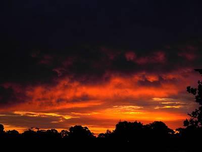 Magical Sunset Art Print by Mark Blauhoefer
