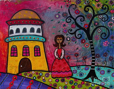 Tree Of Life Painting - Magical Time by Pristine Cartera Turkus
