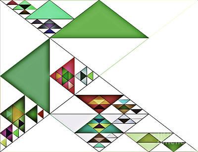 Most Popular Painting - Magical Triangles by Tatjana Popovska
