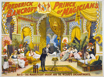 Occult Painting - Magician Poster, C1895 by Granger