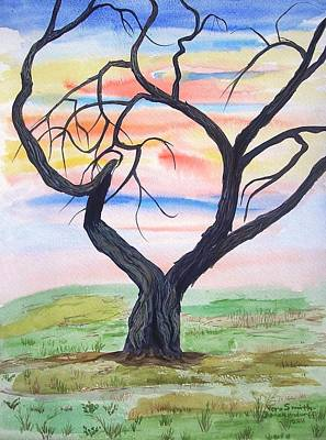 Painting - Magic Mesquite by Vera  Smith
