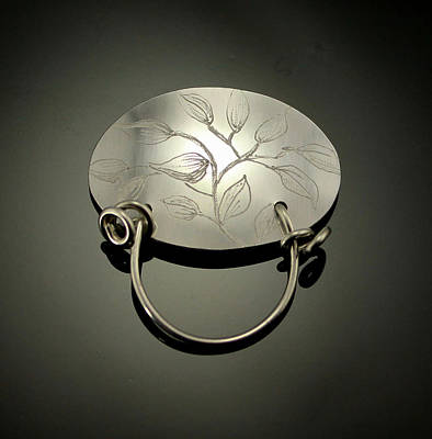 Sterling Silver Jewelry - Magnetic Eyeglass Holder by Laura Wilson