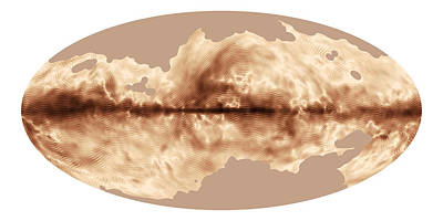 Deep Sky Photograph - Magnetic Field Of Milky Way Galaxy by Science Source
