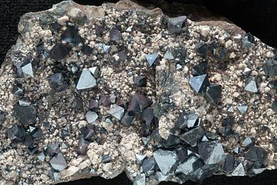 Hematite Photograph - Magnetite Octaheders by Dirk Wiersma