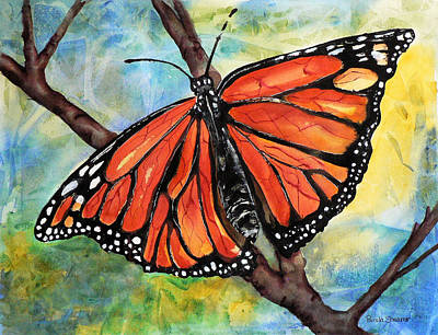 Painting - Magnificant Monarch by Pamela Shearer