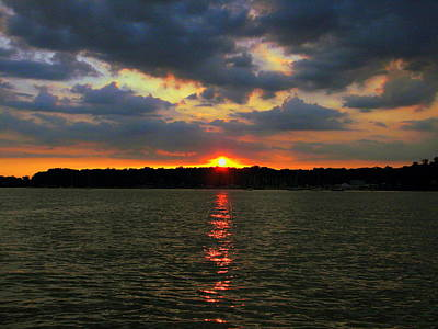 Photograph - Magnificant Sunset by John Potts