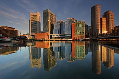 Boston Skyline Photograph - Magnificent Boston by Juergen Roth