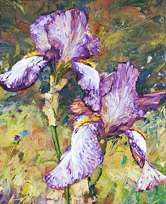 Painting - Magnificent Iris by Steven Boone