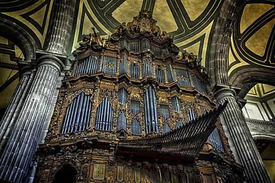 Magnificent Pipe Organ Art Print by Lynn Palmer