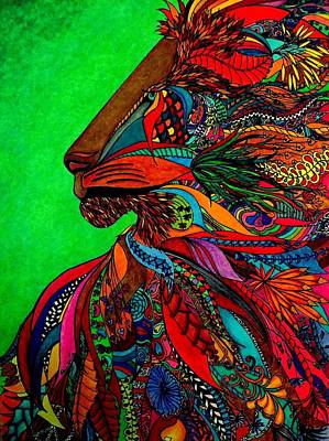 Colored Pencil Abstract Drawing - Magnificent by Rebeca Rambal