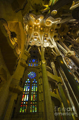 Photograph - Magnificent Sagrada Interior by Deborah Smolinske