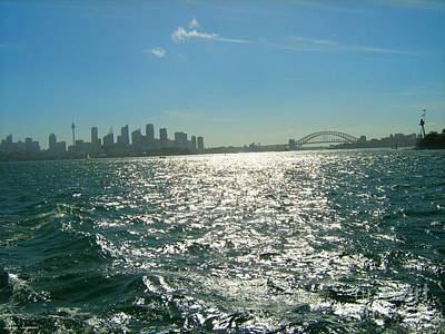 Photograph - Magnificent Sydney Harbour by Leanne Seymour