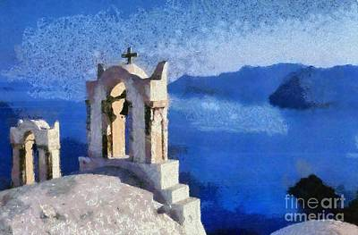 Painting - Magnificent View by George Atsametakis