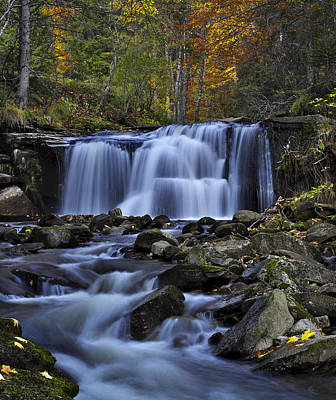 Photograph - Magnificent Waterfall by Ivan Slosar