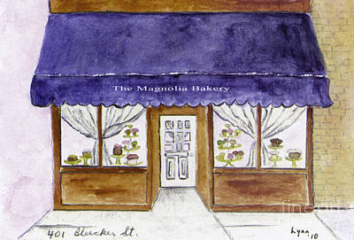 Magnolia Bakery In Greenwich Village Art Print by AFineLyne