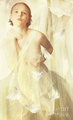 Digital Art - Magnolia Belle by Linda Lees