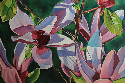 Painting - Magnolia Blossom  by Emma Cownie