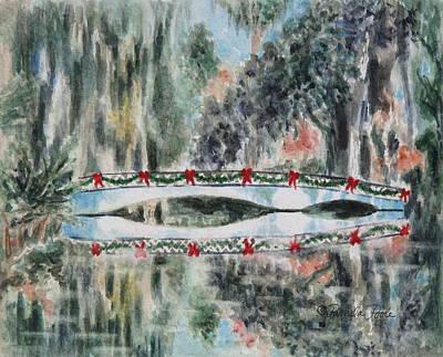 Magnolia Christmas Art Print