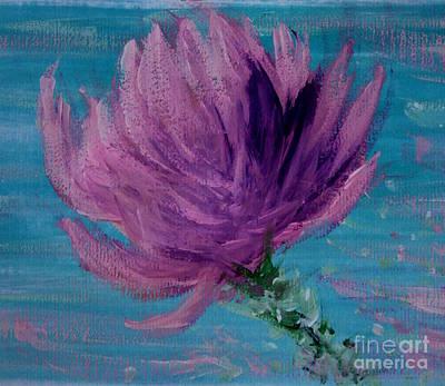 Painting - Magnolia Flower Study by Amanda Holmes Tzafrir