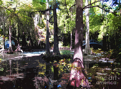 Photograph - Magnolia Gardens South Carolina by Ginette Callaway