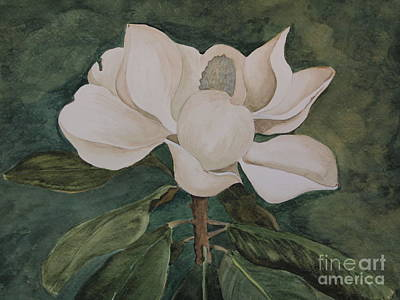 Painting - Magnolia Green by Nancy Kane Chapman