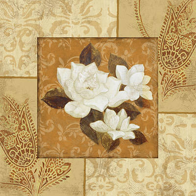 Magnolia I Art Print by Pablo Esteban