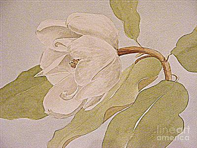 Painting - Magnolia Joy by Nancy Kane Chapman