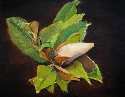 Painting - Magnolia by Joyce Snyder