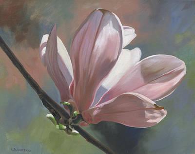 Magnolia Petals Art Print by Alecia Underhill