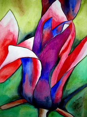 Magnolia Art Print by Sacha Grossel