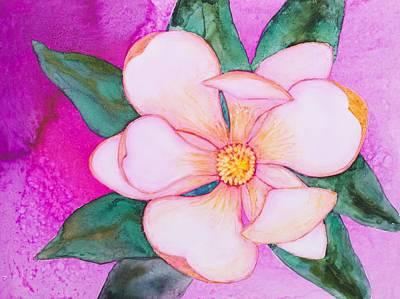 Painting - Magnolia Yupo by Patricia Beebe
