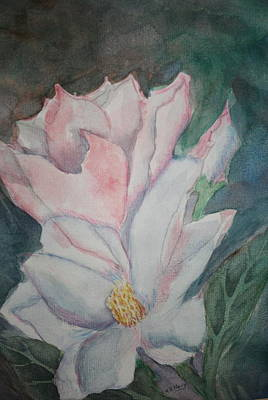 Painting - Magnolias by Kay Novy