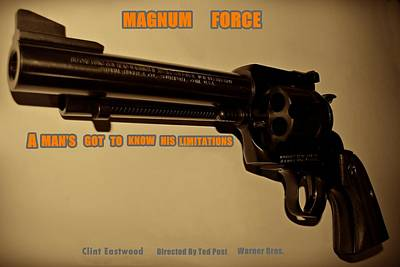 Magnum Force Custom Art Print