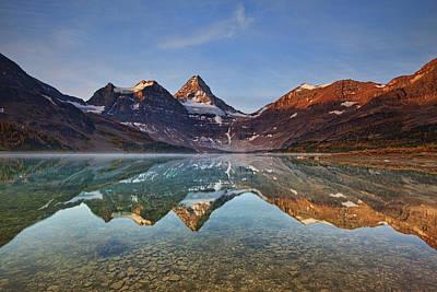 Rocky Mountains Photograph - Magog Lake by Yan Zhang