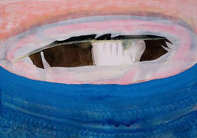 Magpie Original Painting Art Print