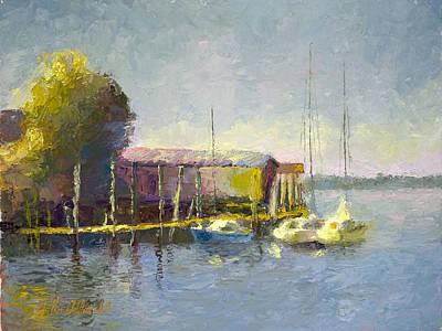 Magwood Docks Art Print
