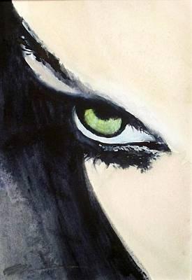 Magyar Eyes Art Print by Ed  Heaton