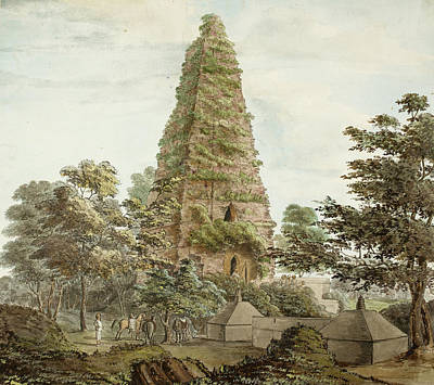 Mahabodhi Temple Print by British Library